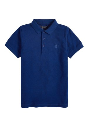 BERRY TEXTURED POLO (3-16YRS) - Polotričko - blue