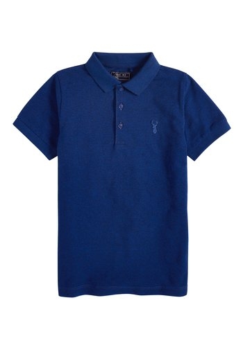 BERRY TEXTURED POLO (3-16YRS)