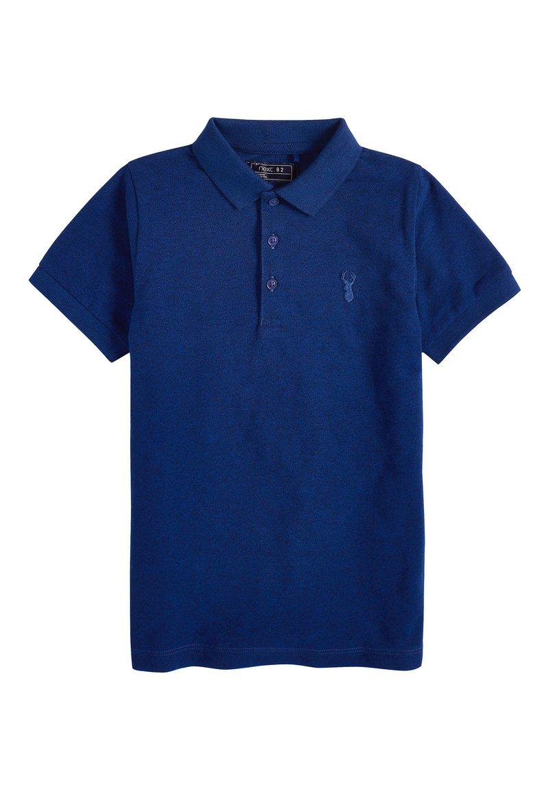 Next - BERRY TEXTURED POLO (3-16YRS) - Polo shirt - blue