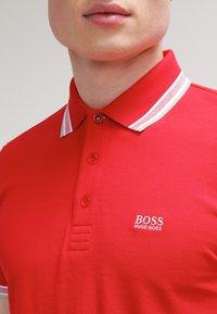BOSS - PADDY  - Poloshirt - medium red - 4