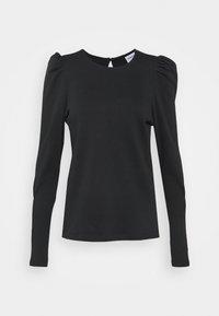 Vero Moda Tall - VMNOREEN O NECK BLOUSE - Camiseta de manga larga - black - 0