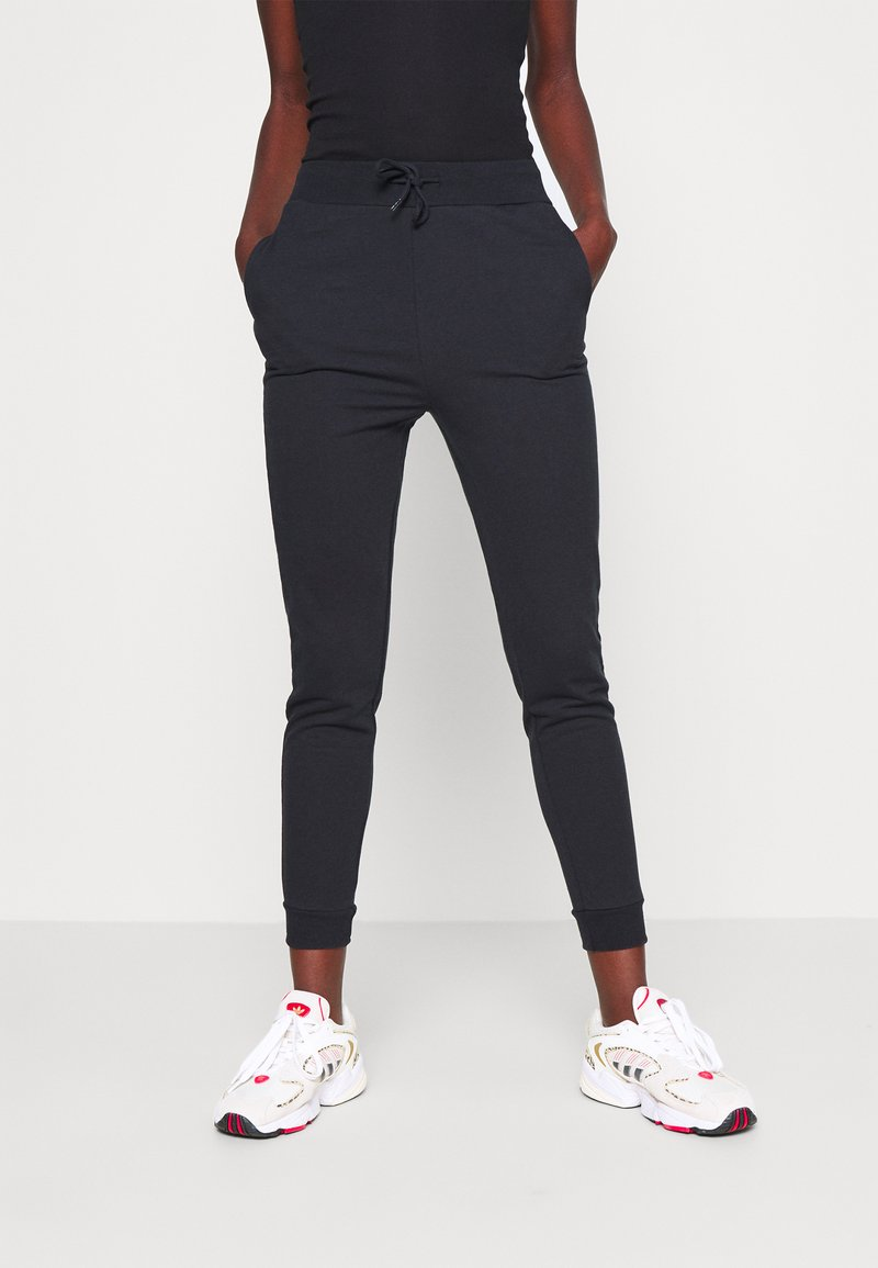 Even&Odd Tall - SLIM FIT JOGGERS - Pantalones deportivos - black