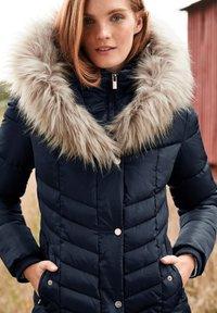 Next - Winter coat - blue - 1