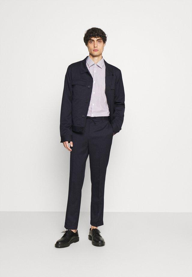 LIGHTWEIGHT WORKER JACKET TROUSERS  - Suit - dark blue