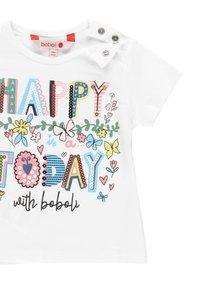 Boboli - Print T-shirt - white - 2