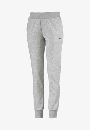 ESSENTIALS - Tracksuit bottoms - light gray heather-cat