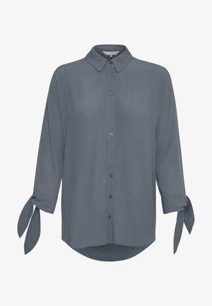 TREASURE  - Camisa - blue/grey