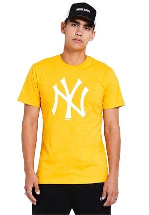 NEW YORK YANKEES MLB SEASONAL TEAM  - Camiseta estampada - yellow