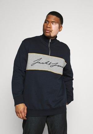 JORHIKARI SWEAT HALF ZIP  - Sweatshirt - navy blazer
