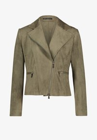 Betty Barclay - Faux leather jacket - olive - 3