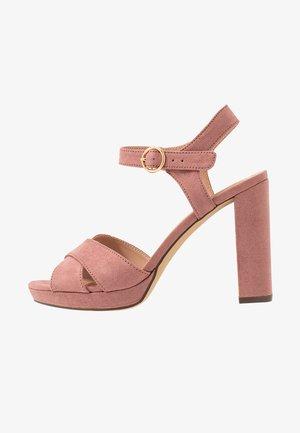SANDIEGO - Sandály na vysokém podpatku - light pink
