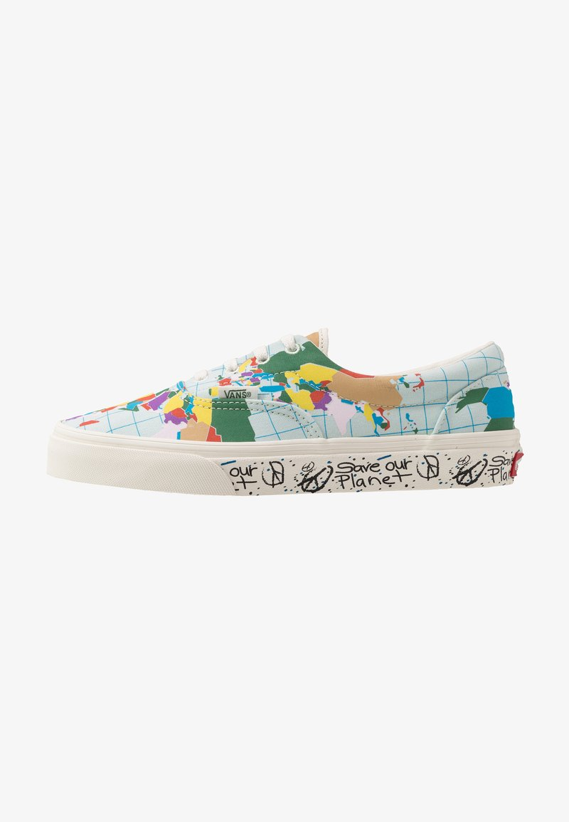 Vans - ERA - SAVE OUR PLANET - Sneakersy niskie - classic white/multicolor