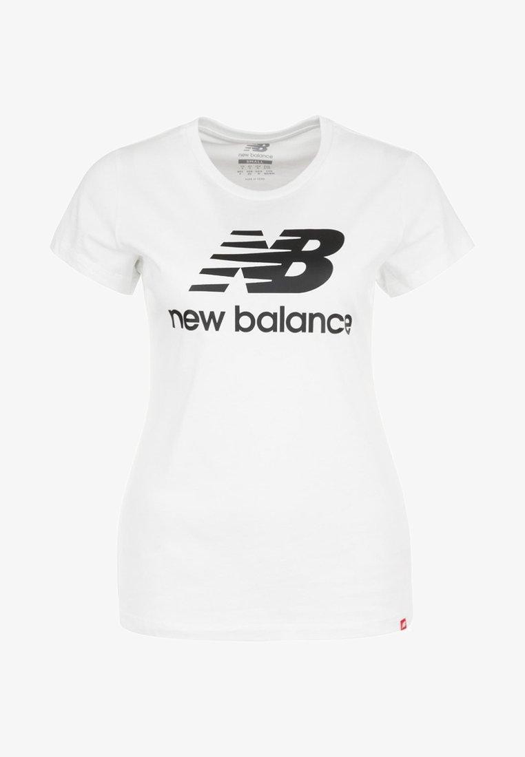 New Balance - Print T-shirt - white/black