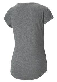 Puma - T-shirt de sport - charcoal heather-puma cat - 4