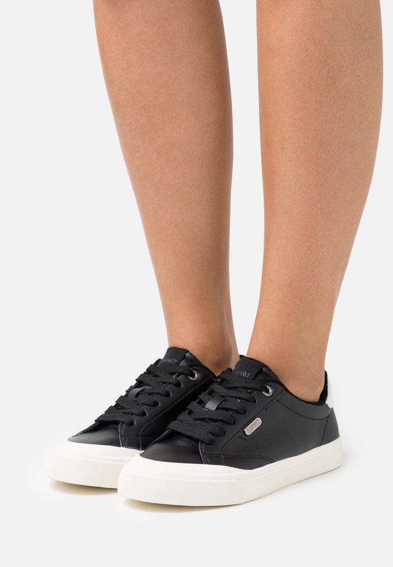 Esprit - SIMONA  - Sneakers laag - black