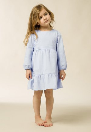 MIT PUFFÄRMEL - Day dress - light blue