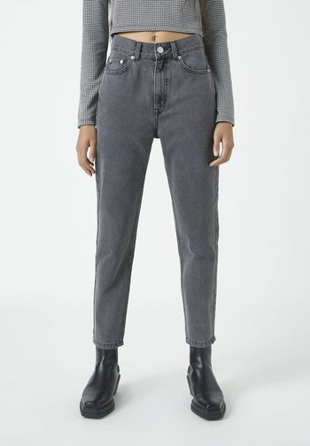 MOM - Relaxed fit jeans - mottled dark grey
