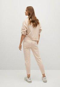 Mango - PIQUE8 - Pantalon de survêtement - zand - 2