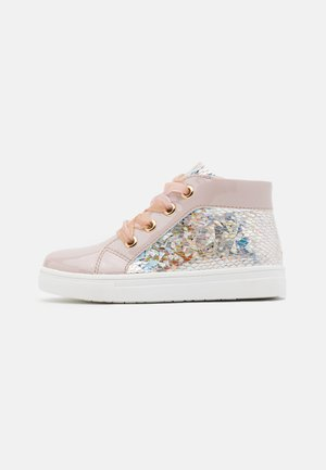 Sneakers high - lilac