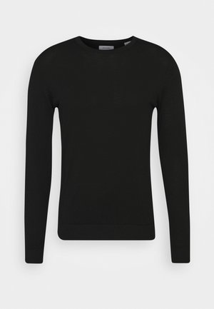 JJEMARK CREW NECK - Jumper - black
