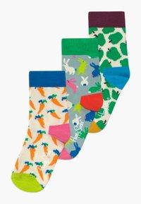 Happy Socks - BUNNY APPLE 3 PACK - Socks - multi-coloured - 0