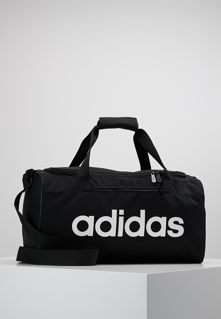 adidas Performance - LIN CORE  - Torba sportowa - black/white