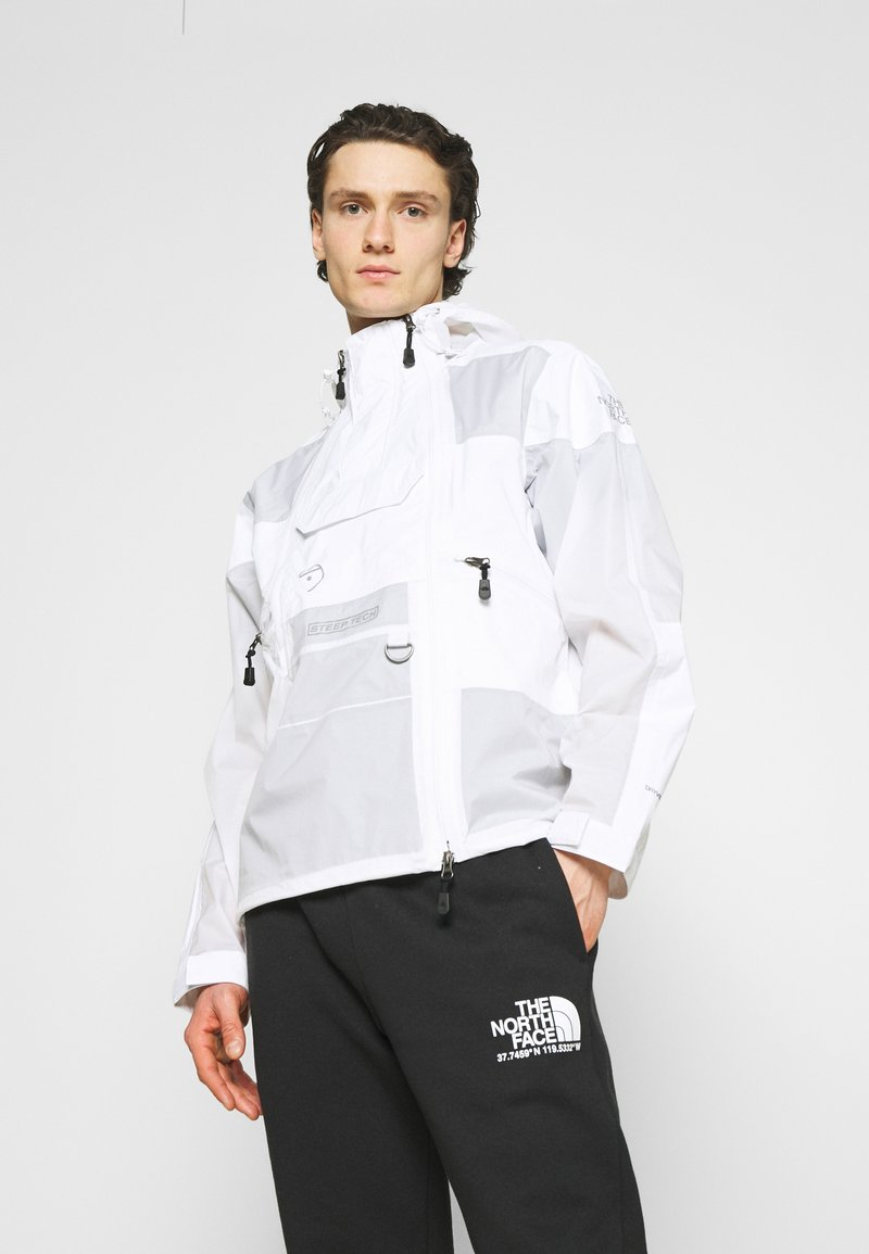 The North Face - STEEP TECH LIGHT RAIN JACKET - Regnjacka - white