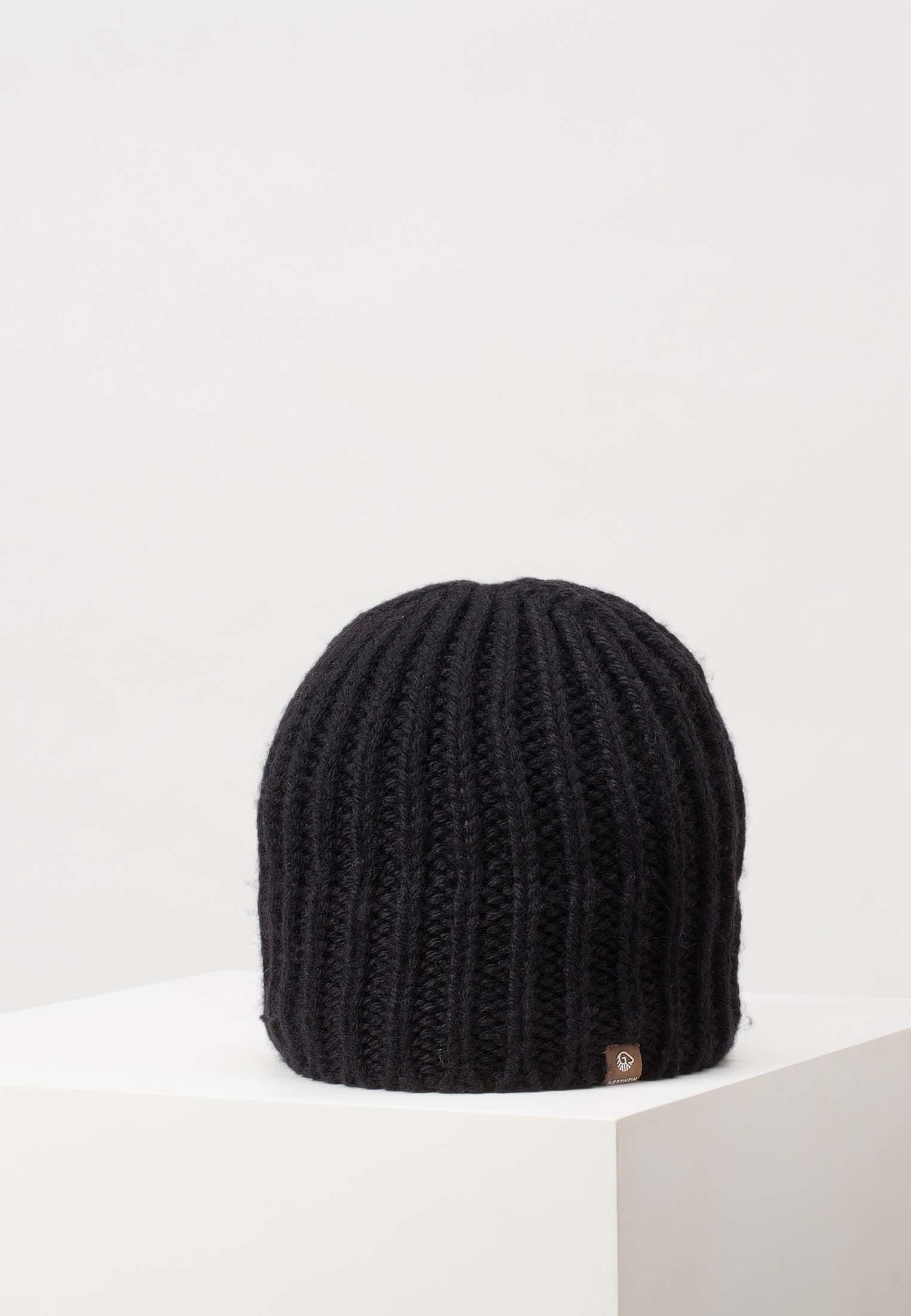 Giesswein Giebel - Mütze Black/schwarz