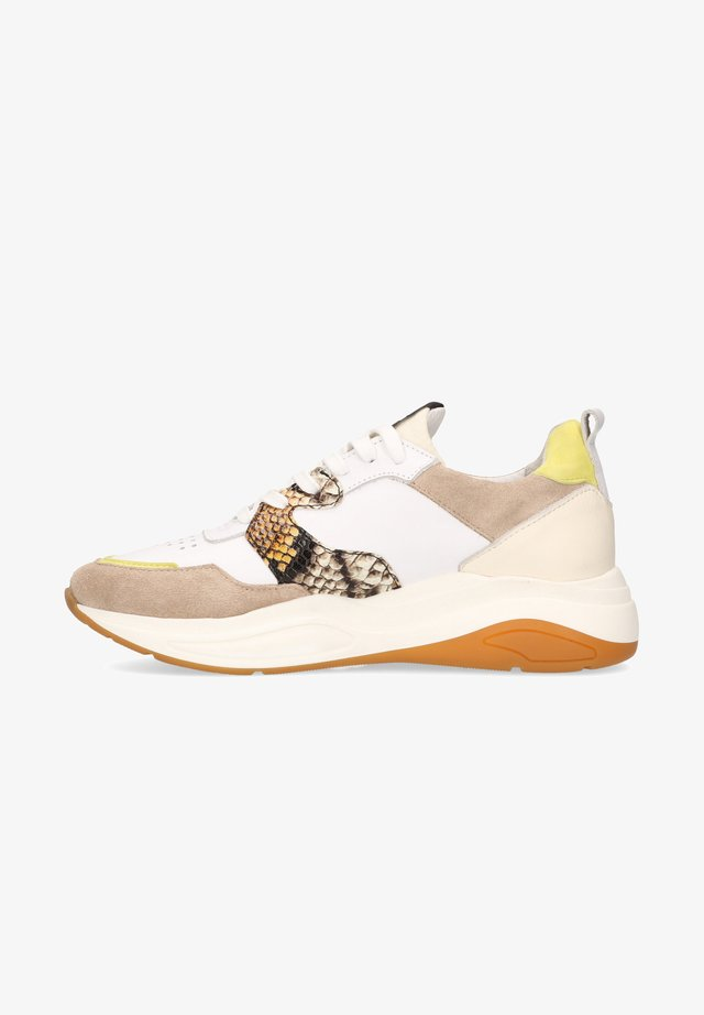 FARO - Sneakers laag - yellow