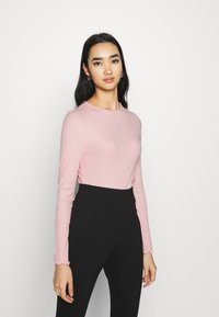 New Look - BABYLOCK TEE - Long sleeved top - light pink - 0