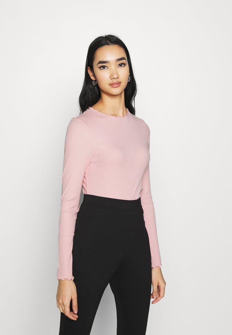 New Look - BABYLOCK TEE - Long sleeved top - light pink