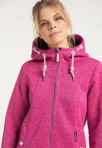 Schmuddelwedda - Winter jacket - pink melange - 3