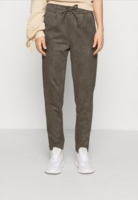 ONLY - ONLPOPTRASH EASY PANT - Trousers - beluga - 0