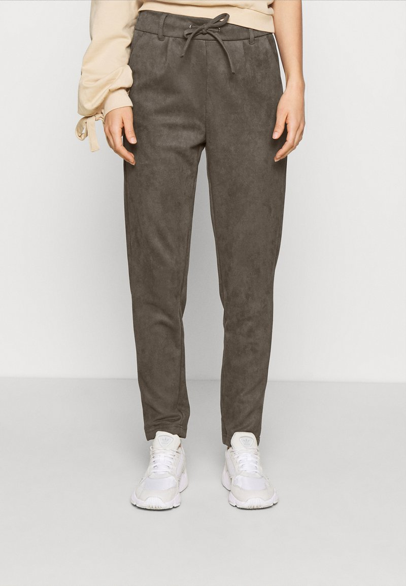 ONLY - ONLPOPTRASH EASY PANT - Trousers - beluga