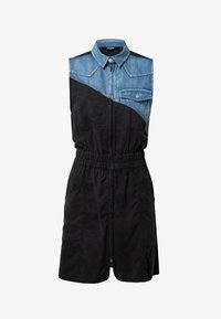 Desigual - SIDNEY - Denim dress - black - 4