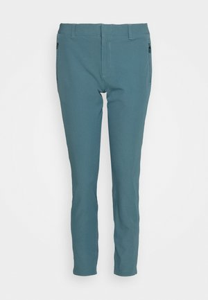 LINKS ANKLE PANT - Pantaloni - lichen blue