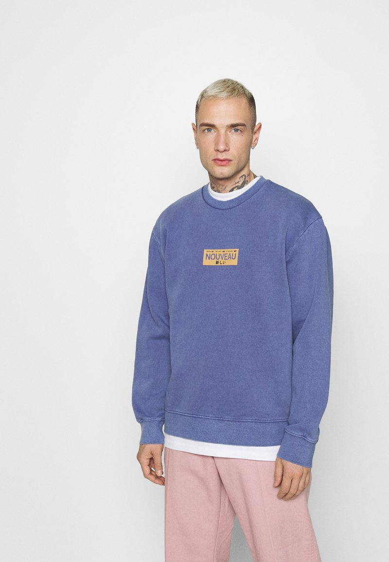 Topman - PRINT  - Sweatshirt - lilac