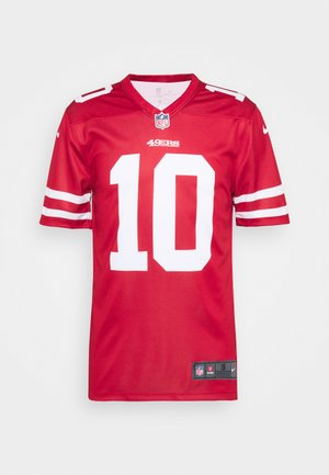 NFL SAN FRANCISCO 49ERS JIMMY GAROPPOLO LEGEND TEAM COLOUR  - Klubové oblečení - gym red