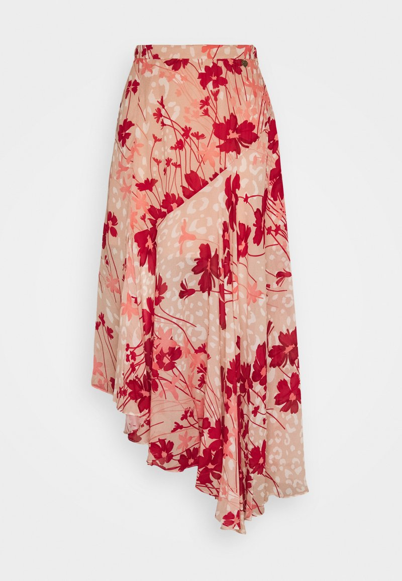TWINSET - Maxi skirt - red