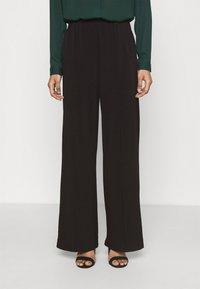 Vero Moda - VMALBERTA DETAIL PANT  - Trousers - black - 0