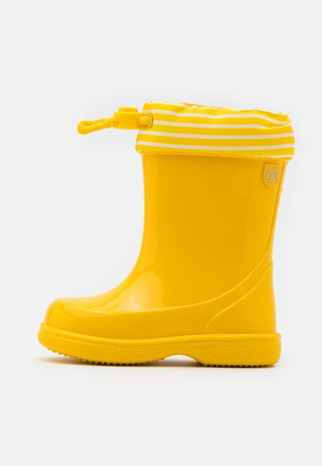PIPO NAUTICO UNISEX - Botas de agua - amarillo