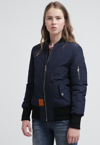 Bombers - ORIGINAL - Bomber Jacket - navy - 0