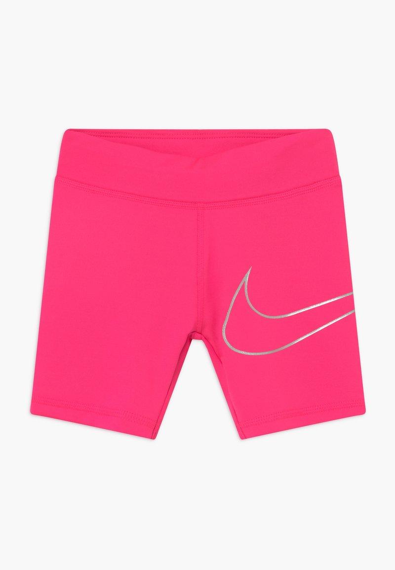 Nike Sportswear - GIRLS DRI-FIT BIKER - Shorts - hyper pink