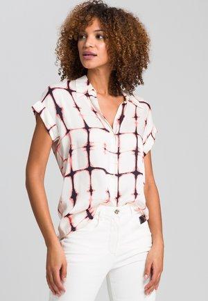 Button-down blouse - milk varied