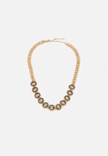 SAREDER - Necklace - black/gold-coloured