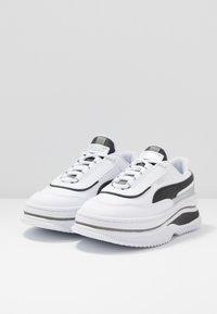 Puma - DEVA MONO POP  - Trainers - white/black - 4