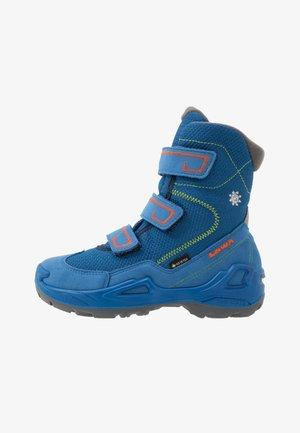 MILO GTX - Zimní obuv - blue/orange