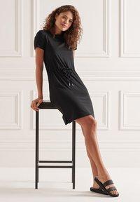Superdry - Jersey dress - black - 2