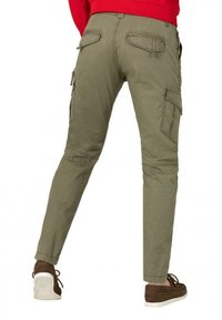 Timezone - Cargo trousers - muddy green - 2