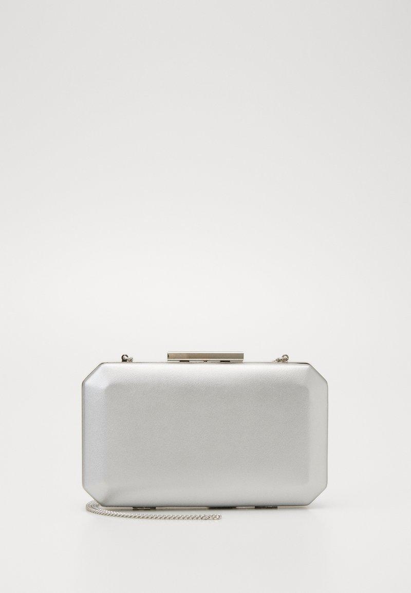 Forever New - TARA GEO BOX - Clutch - silver